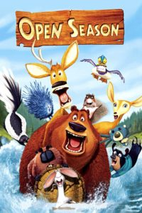 "Poster for the movie ""Open Season"""