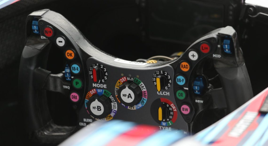 Williams Steering Wheel