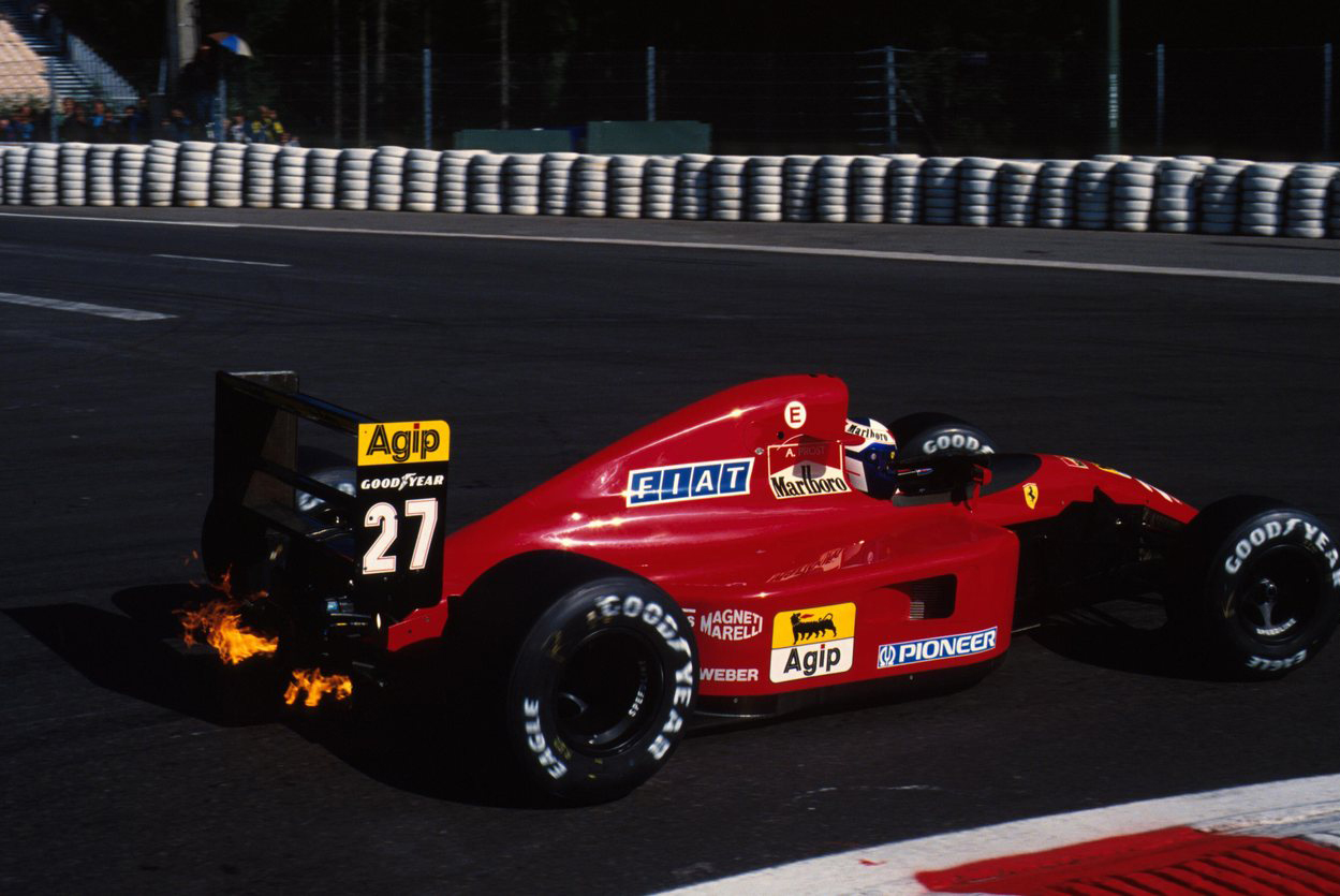 Alain Prost, Spa Francorchamps