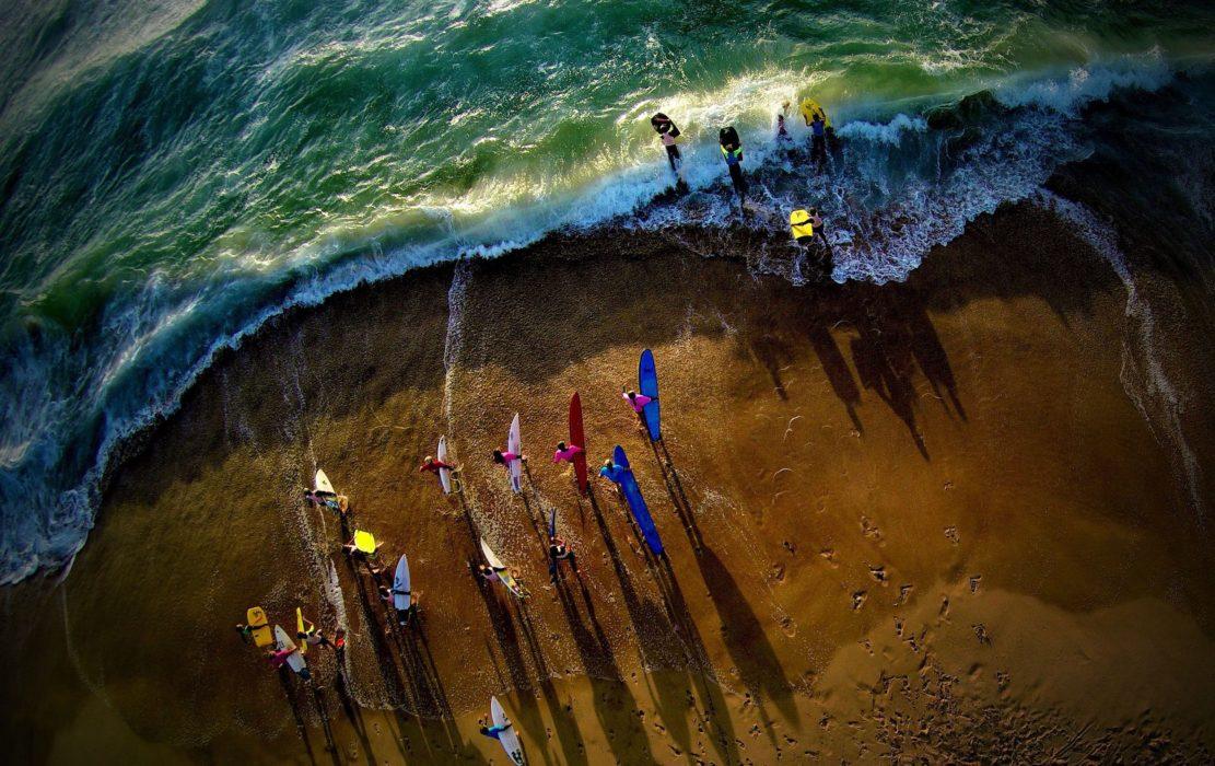 Aerial Shore
