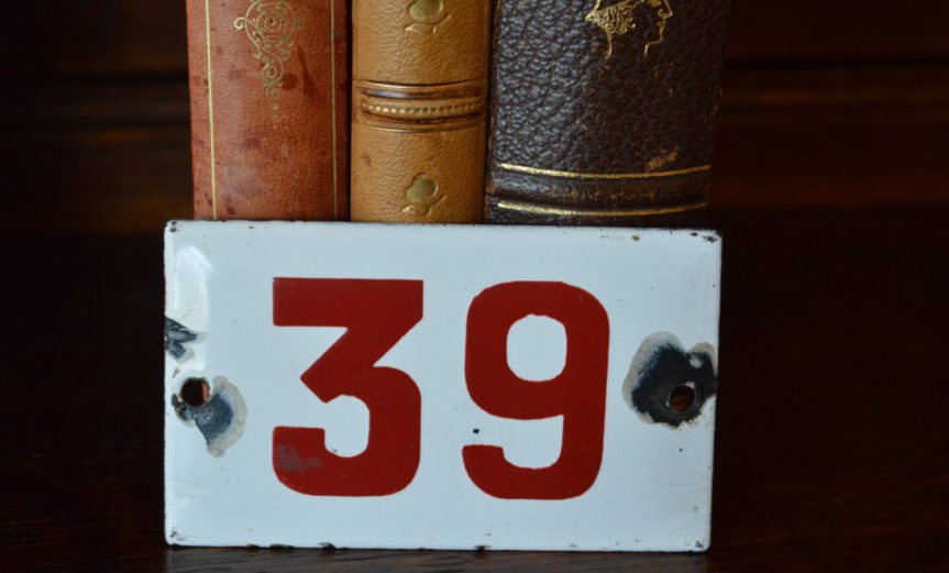 Number 39