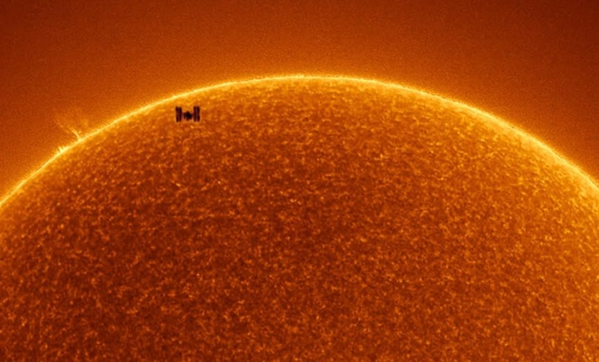 ISS & Sun