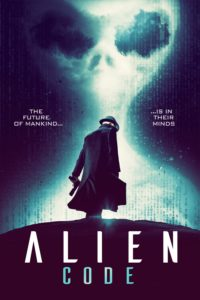 "Poster for the movie ""Alien Code"""